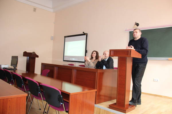 Зустріч зі студентами Львівського коледжу легкої промисловості