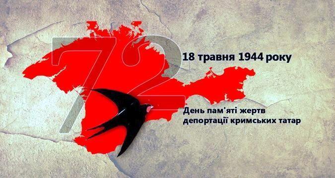 18 травня - День пам'яті жертв депортації кримських татар