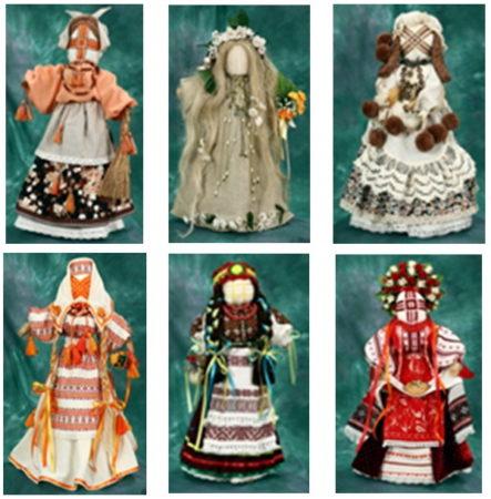 Майстер-клас з виготовлення ляльок-мотанок