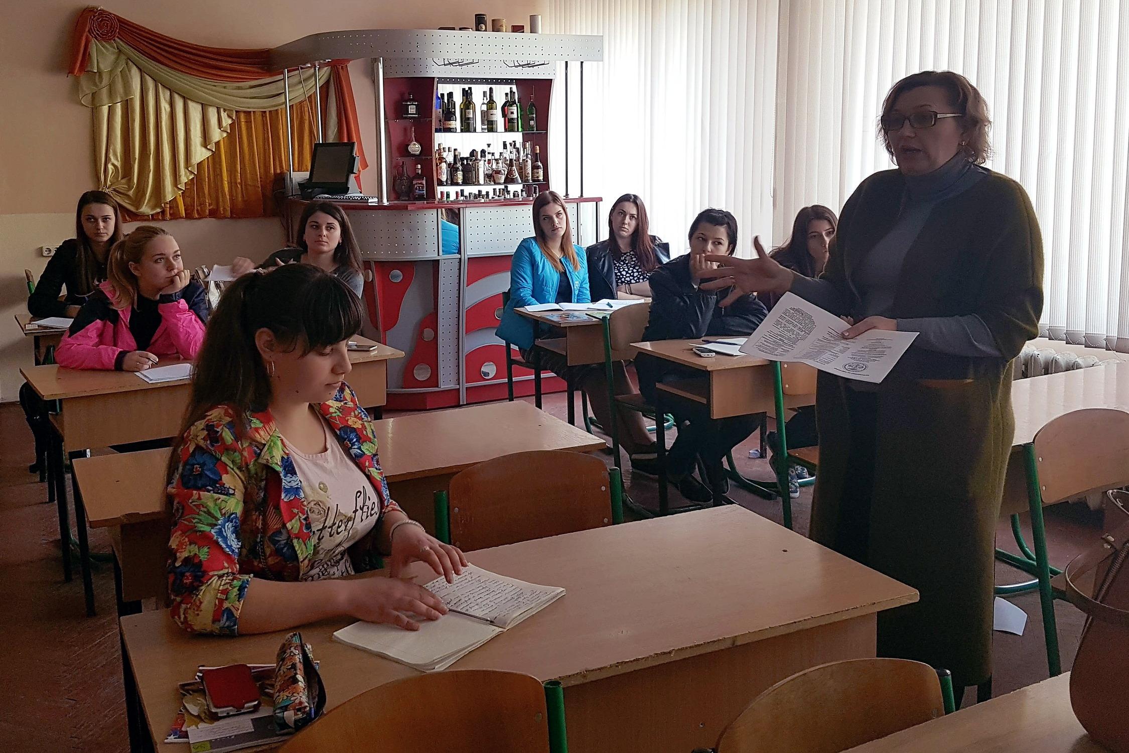 Зустрічі з студентами коледжів в Івано-Франківську
