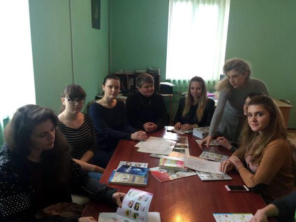 засідання студентського наукового товариства факультету