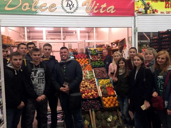 Виїзне заняття з дисципліни «Товарознавство фруктоовочевих товарів»