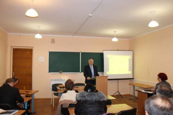 Ювілей кафедри підприємництва, торгівлі та логістики