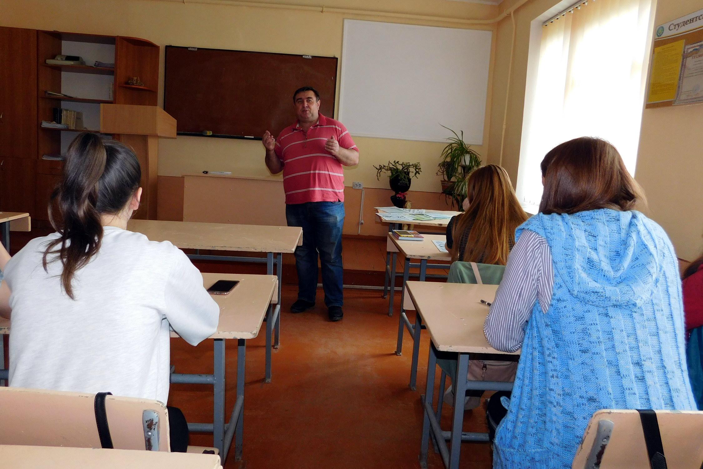 Профорієнтаційна робота у Борщівському агротехнічному коледжі