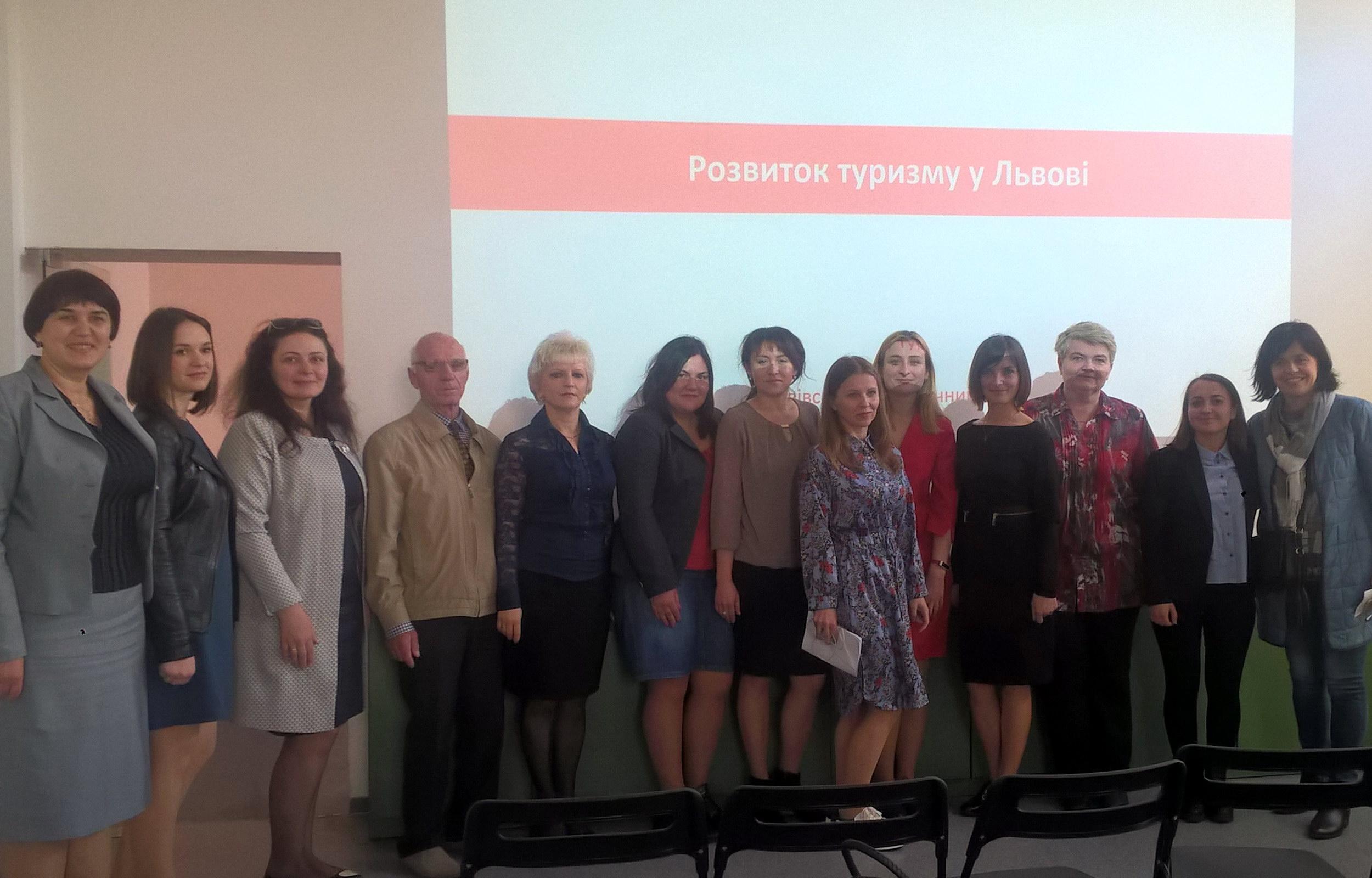Участь в ознайомчій зустрічі з Львівським туристичним офісом