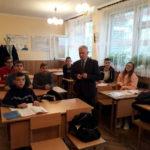 Профорієнтаційна зустріч з учнями школи № 90 м. Львова