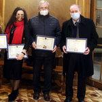 Вітаємо з отриманням почесної нагороди
